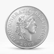 10 Rappen Coin 3d model