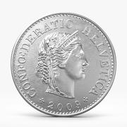 20 Rappen Coin 3d model