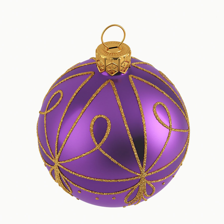 Christmas Ball A royalty-free 3d model - Preview no. 3