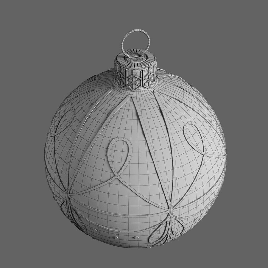 Christmas Ball A royalty-free 3d model - Preview no. 6