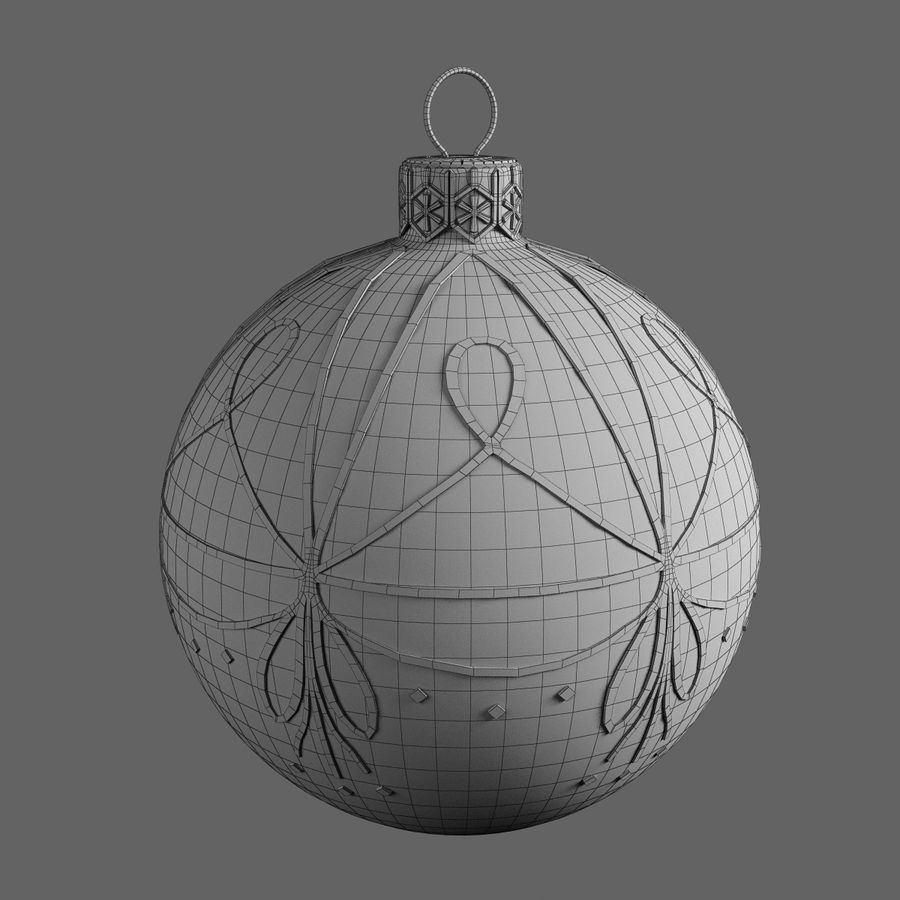 Christmas Ball A royalty-free 3d model - Preview no. 5