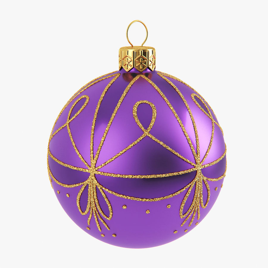 Christmas Ball A royalty-free 3d model - Preview no. 1