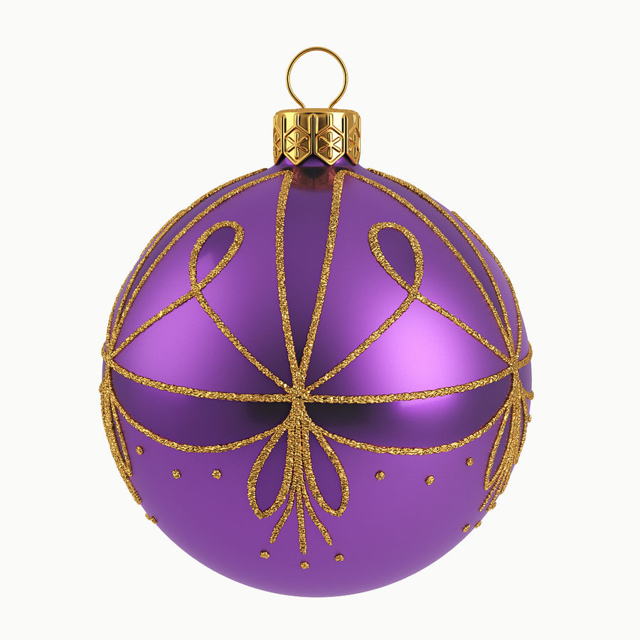 Christmas Ball A royalty-free 3d model - Preview no. 2