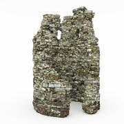 Kule kalıntıları 3d model