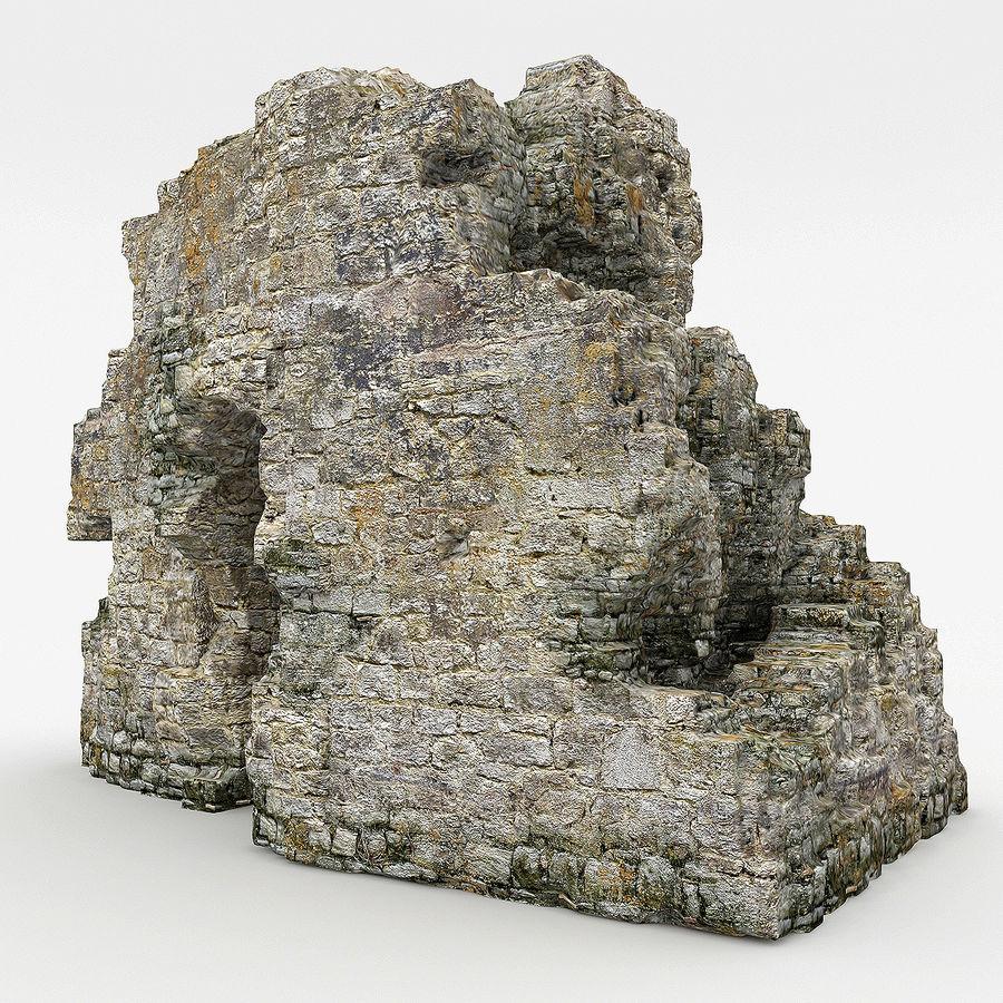 废墟城堡 royalty-free 3d model - Preview no. 1