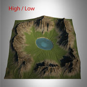 Mountain Landscape(1) 3d model
