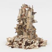 ruïnes 3d model