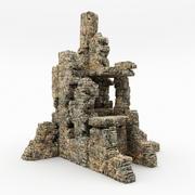 Ruines du château 3d model