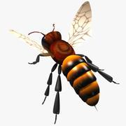 abeja modelo 3d