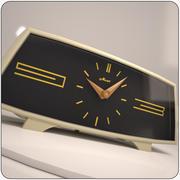 复古苏联时钟 3d model