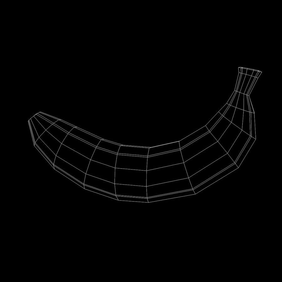 Banana royalty-free 3d model - Preview no. 10