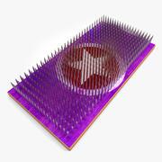 Board of Nails 3d model