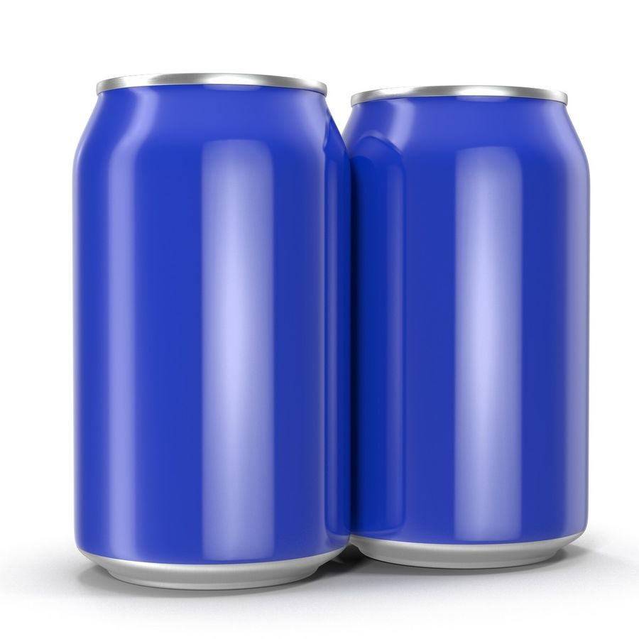 Open Beer Can 3D Model royalty-free 3d model - Preview no. 9