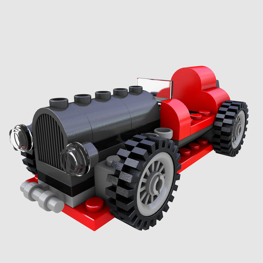 LEGO 5920 Island Racer royalty-free 3d model - Preview no. 2