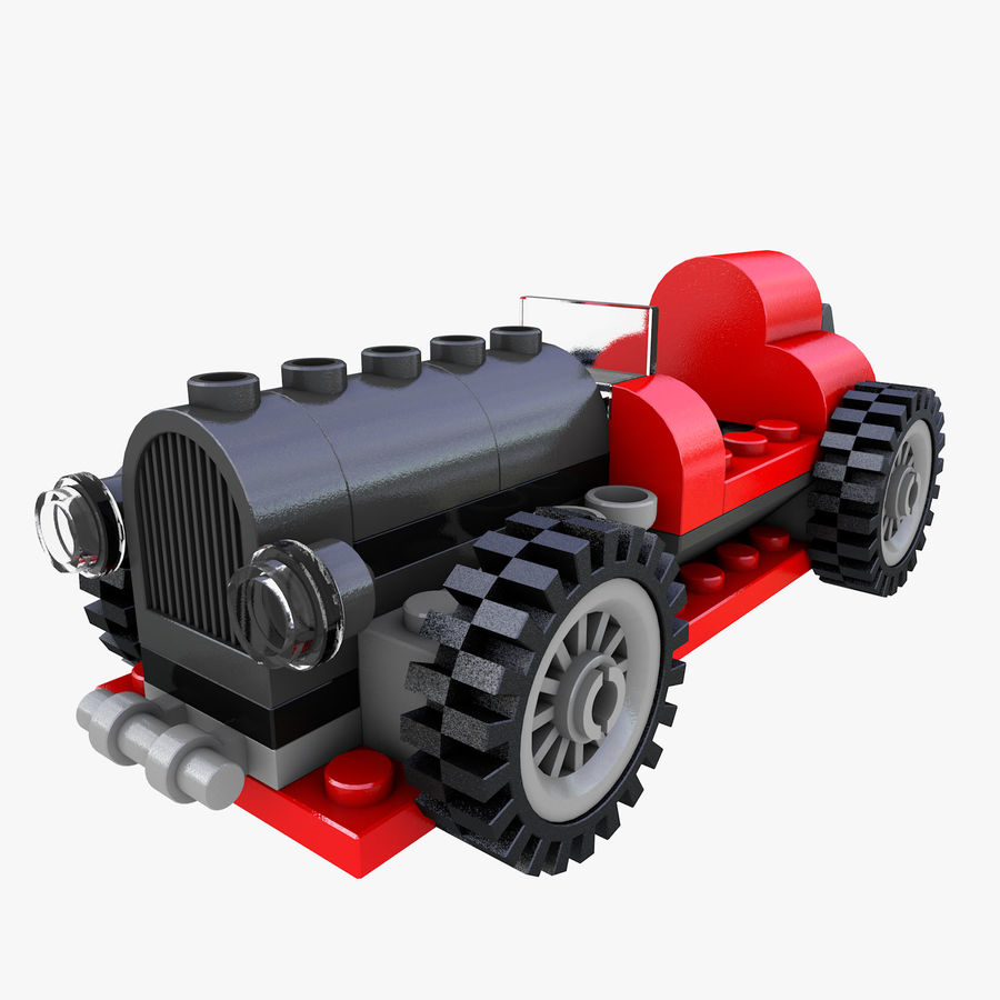LEGO 5920 Island Racer royalty-free 3d model - Preview no. 1