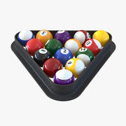 Pool Balls 3D Models 3d model