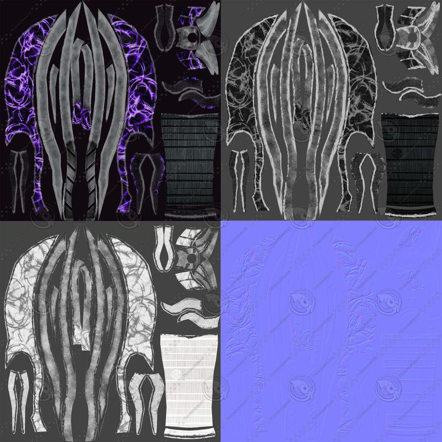 Fantasy Dagger royalty-free 3d model - Preview no. 19