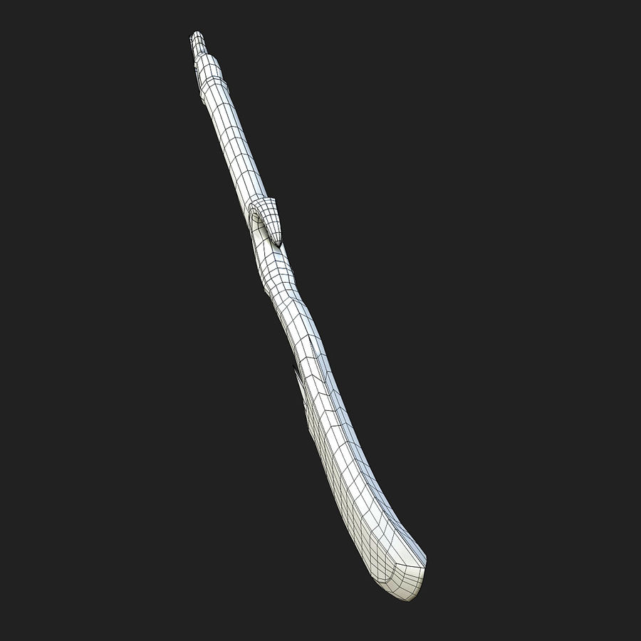 Fantasy Dagger royalty-free 3d model - Preview no. 14