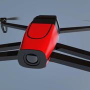 Papegaai Bebop Drone 3d model