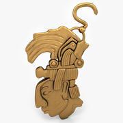 Azteckie złoto 3d model