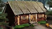 乡村小屋 3d model
