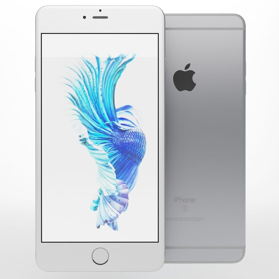 iPhone 6s artı royalty-free 3d model - Preview no. 5
