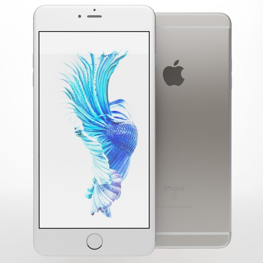 iPhone 6s artı royalty-free 3d model - Preview no. 4