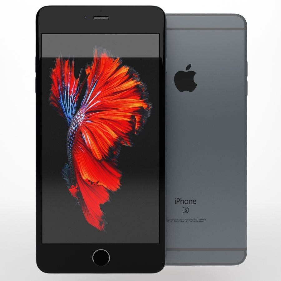iPhone 6s artı royalty-free 3d model - Preview no. 7