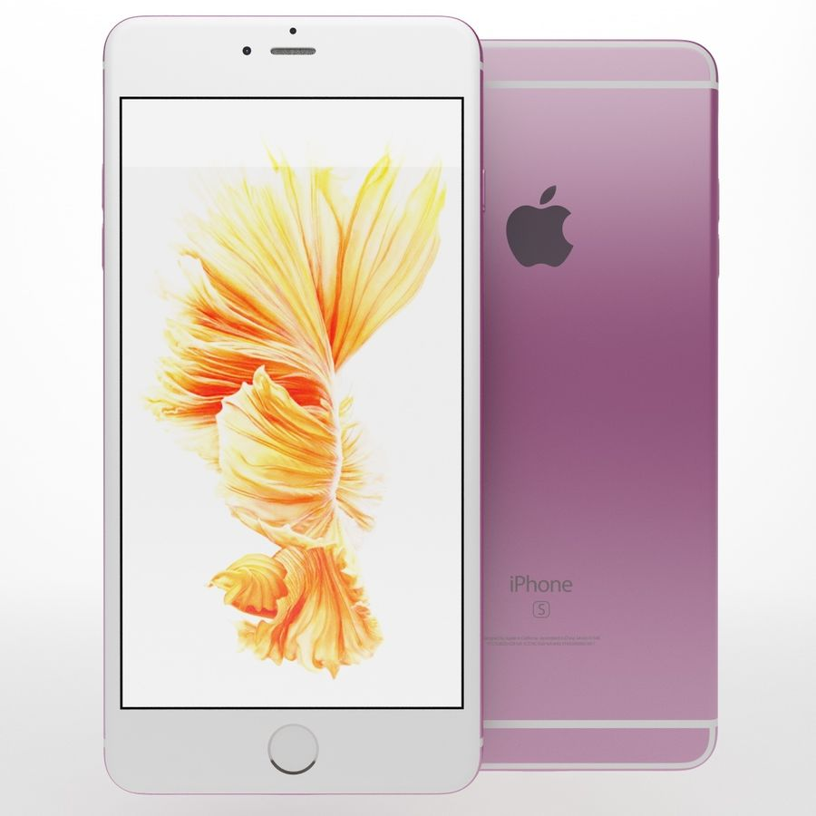 iPhone 6s artı royalty-free 3d model - Preview no. 6