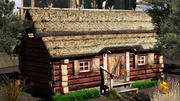 country cottage2 lwo 3d model