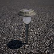 Gräsmatta ljus 3d model