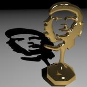 Trofeum Che Guevara 3d model
