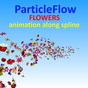 Flowers Particle 3d model