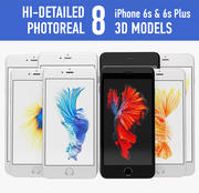 Iphone 6s i 6s plus 3d model