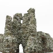 Kalıntılar kale 3d model