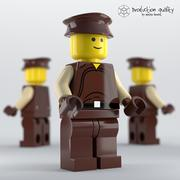 Lego Naboo Security Officer Abbildung 3d model