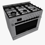 Gas cooker BOSCH 3d model