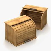 パン箱 3d model