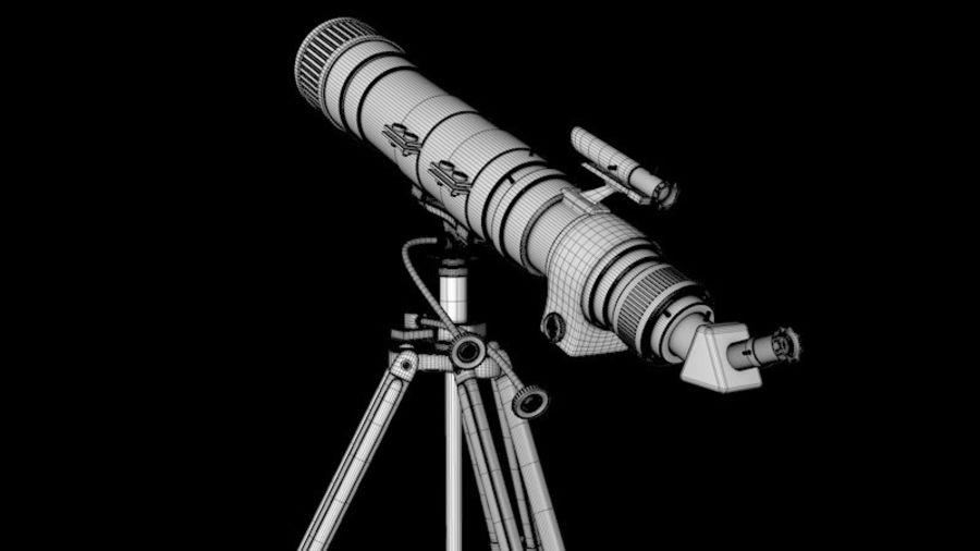 Телескоп royalty-free 3d model - Preview no. 6