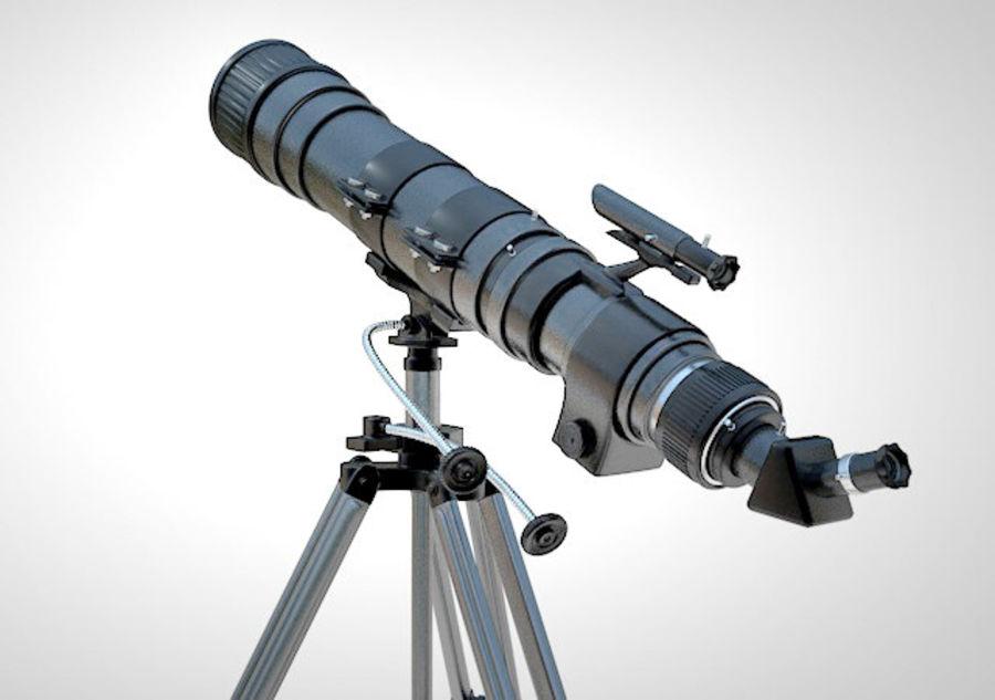 Телескоп royalty-free 3d model - Preview no. 5