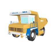 Belaz 7540 Mining Truck 3d model