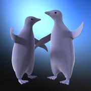 toy penguin 3d model