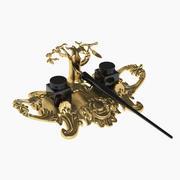 Baroque Inkstand 3d model