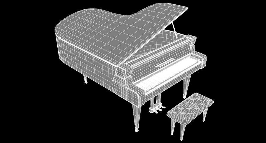 Flygel royalty-free 3d model - Preview no. 8