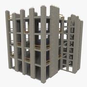 Cantiere uno strutturato 3d model