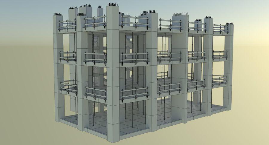 Plac budowy trzy teksturowane royalty-free 3d model - Preview no. 14