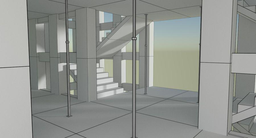 Plac budowy trzy teksturowane royalty-free 3d model - Preview no. 16