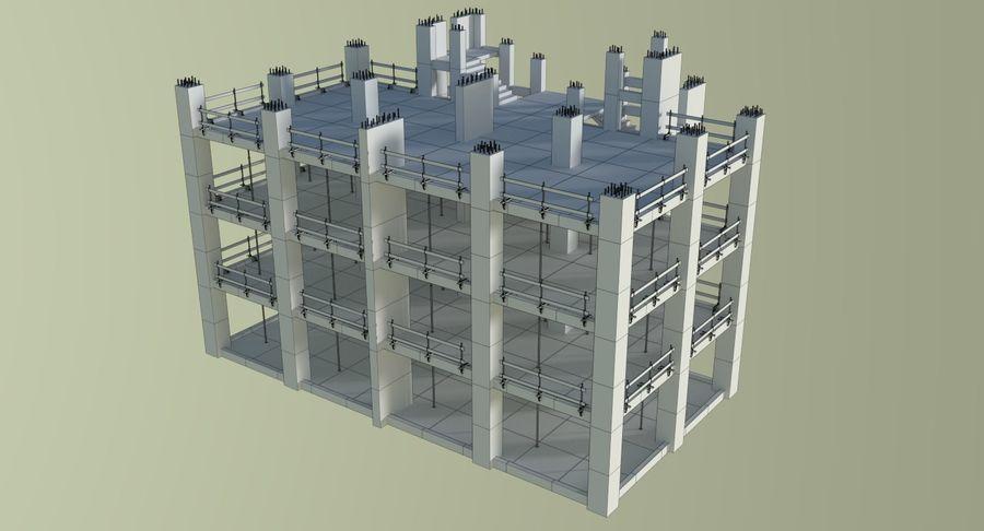 Plac budowy trzy teksturowane royalty-free 3d model - Preview no. 13