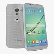 Motorola Moto X White 3D Модель 3d model