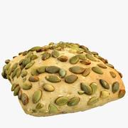 Pan de molde modelo 3d